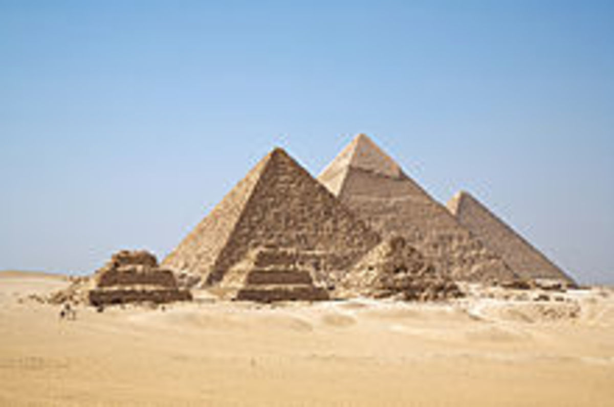 Pyramids - How to Find Their Height and Volume