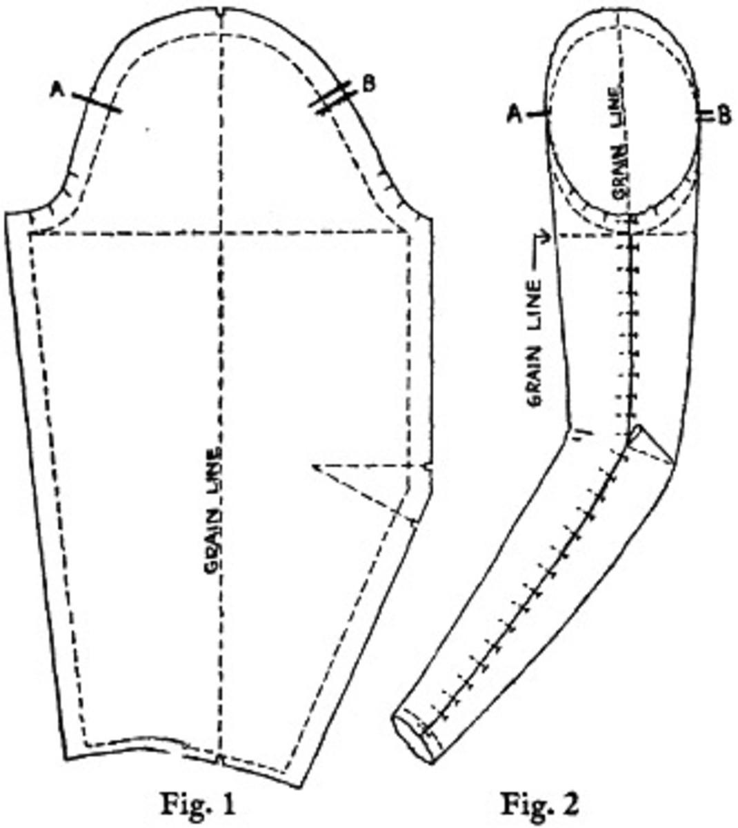 Long sleeve pattern
