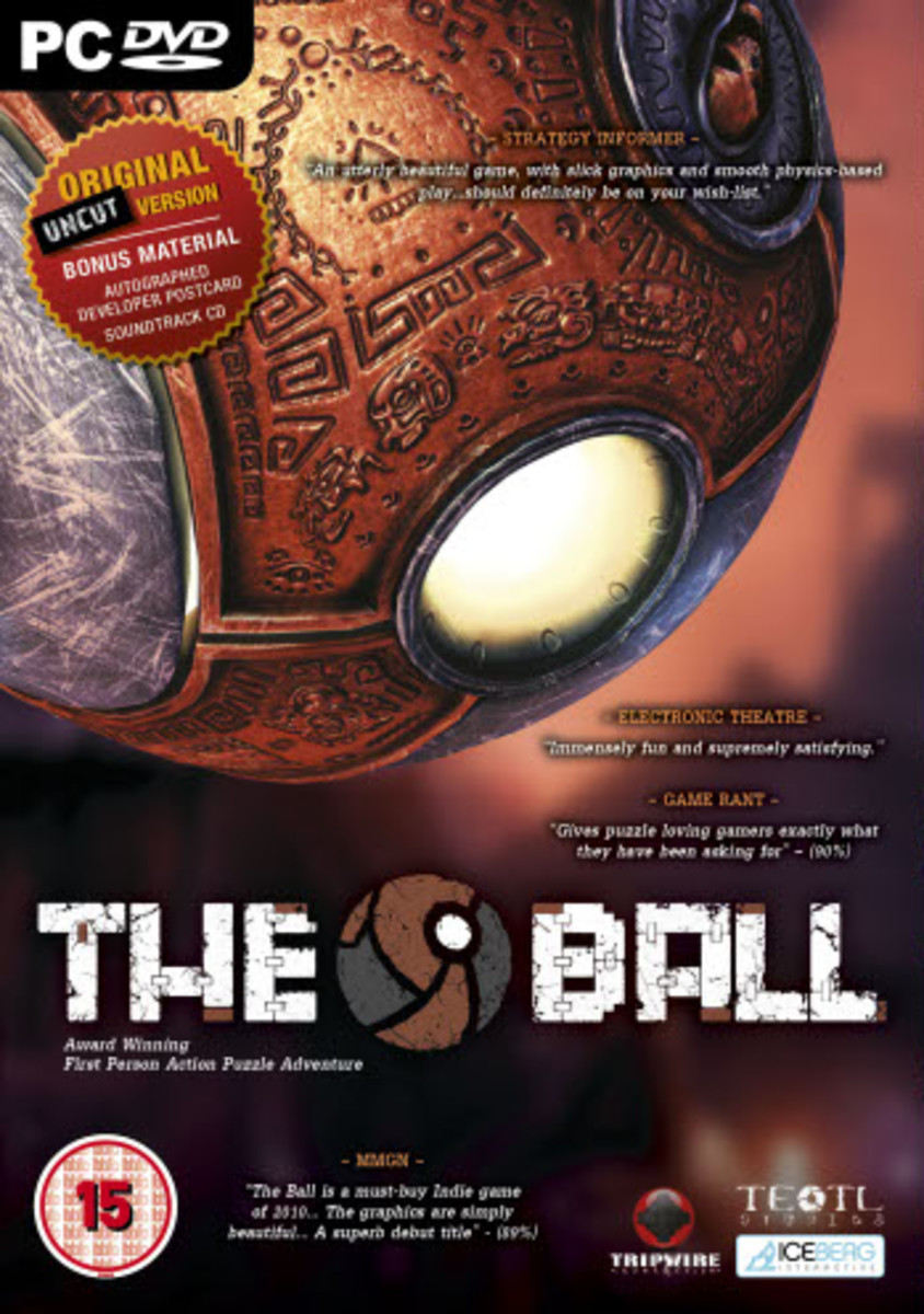 Control The Ball In This First Person Puzzle Experience.