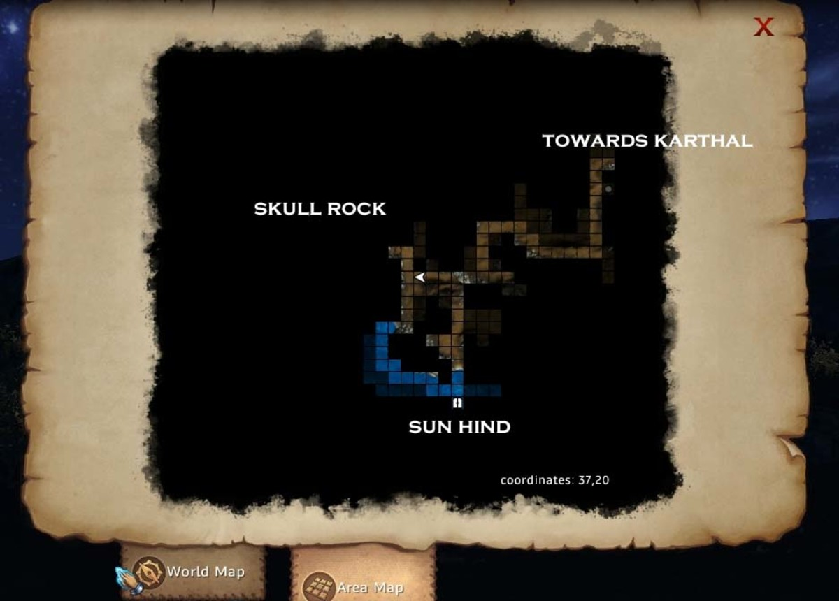 Might and Magic X Legacy Find the Blackfang Chest in the Rock Skull dungeon.