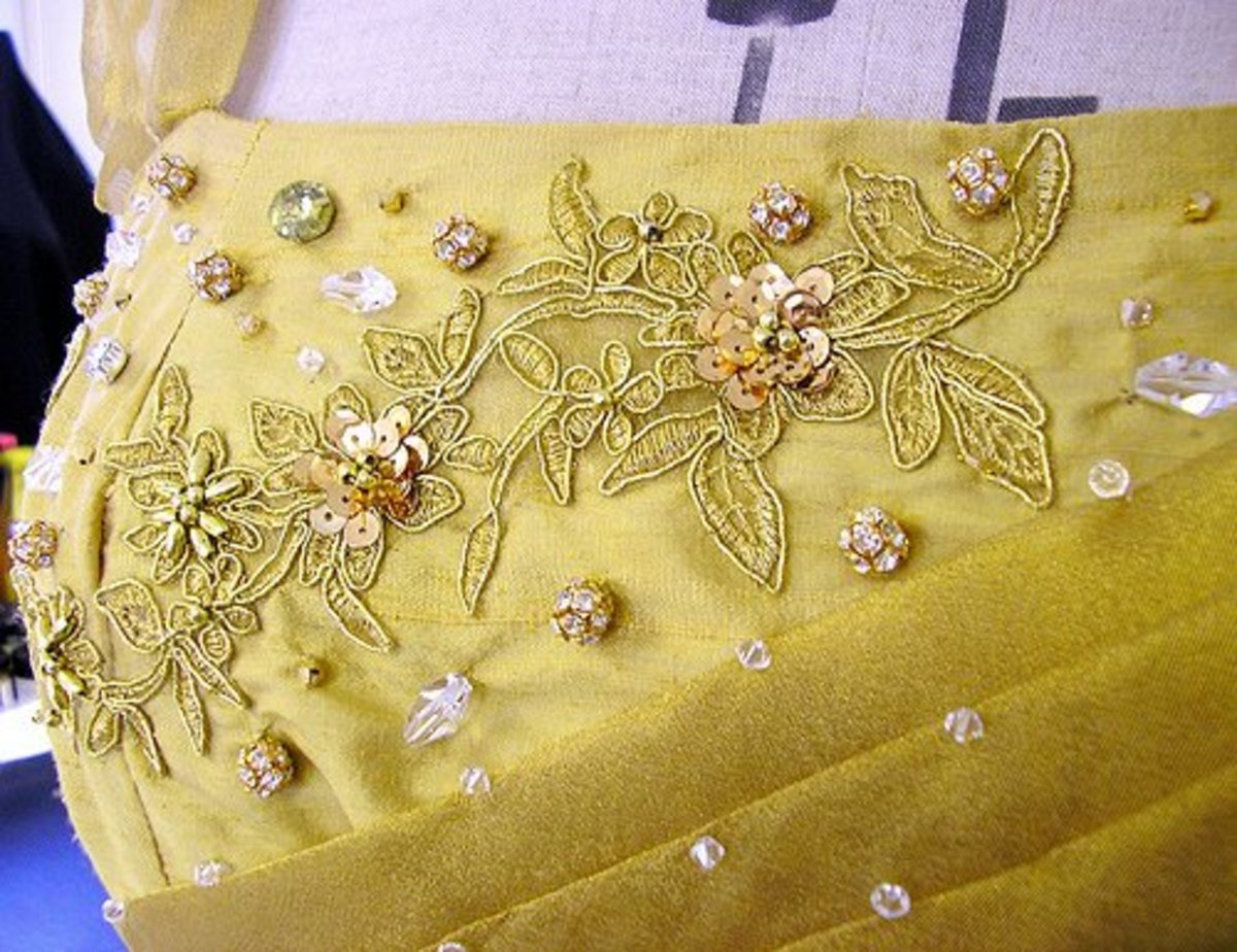 Tips For Adding Embellishments to Your Wedding Dress