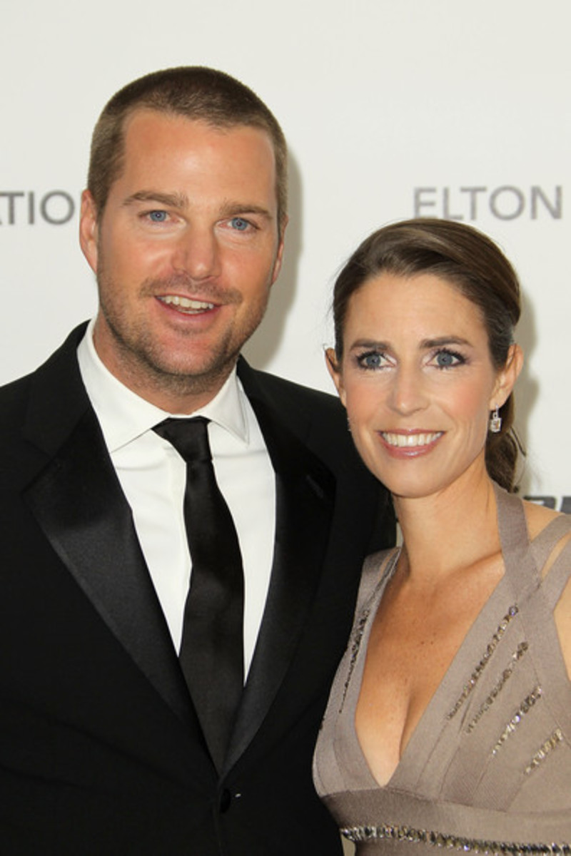 Chris O'Donnell and his wife, Caroline Fentress.