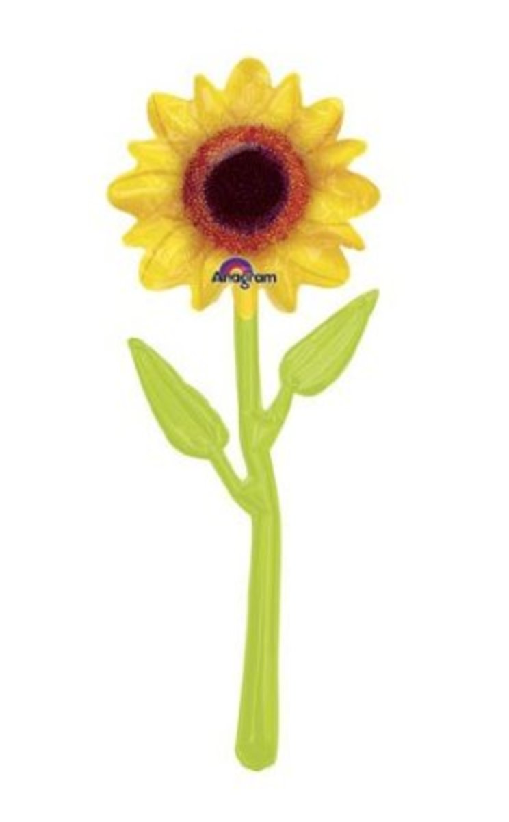 "30"" Sunflower balloon decoration"