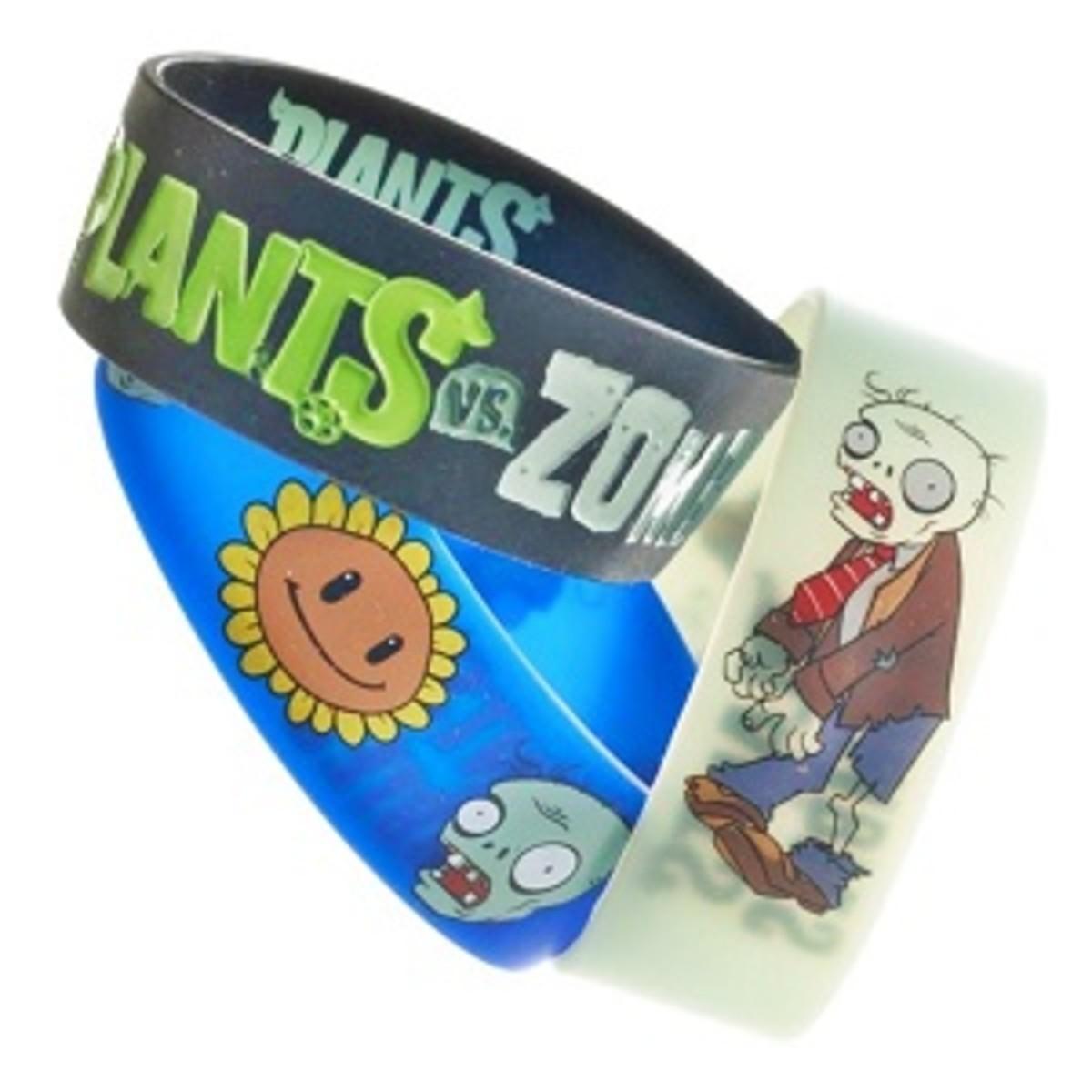 Plants vs Zombies wristband