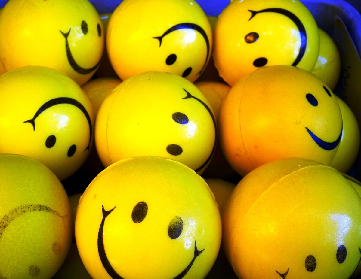 Put your happy face on.  Stop the whining.  You have a lot to be grateful for.