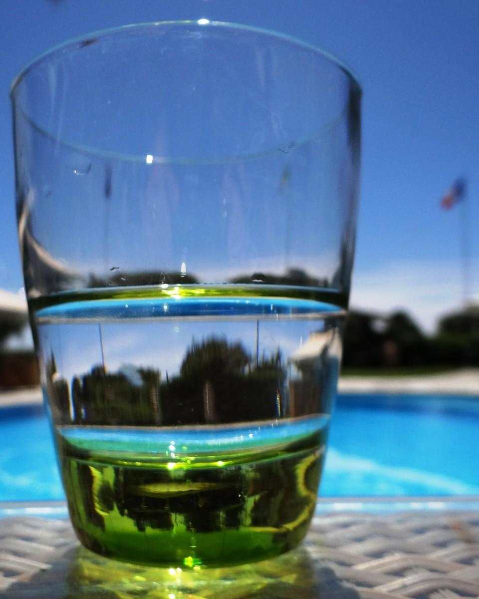 Half a glass can be plenty good.