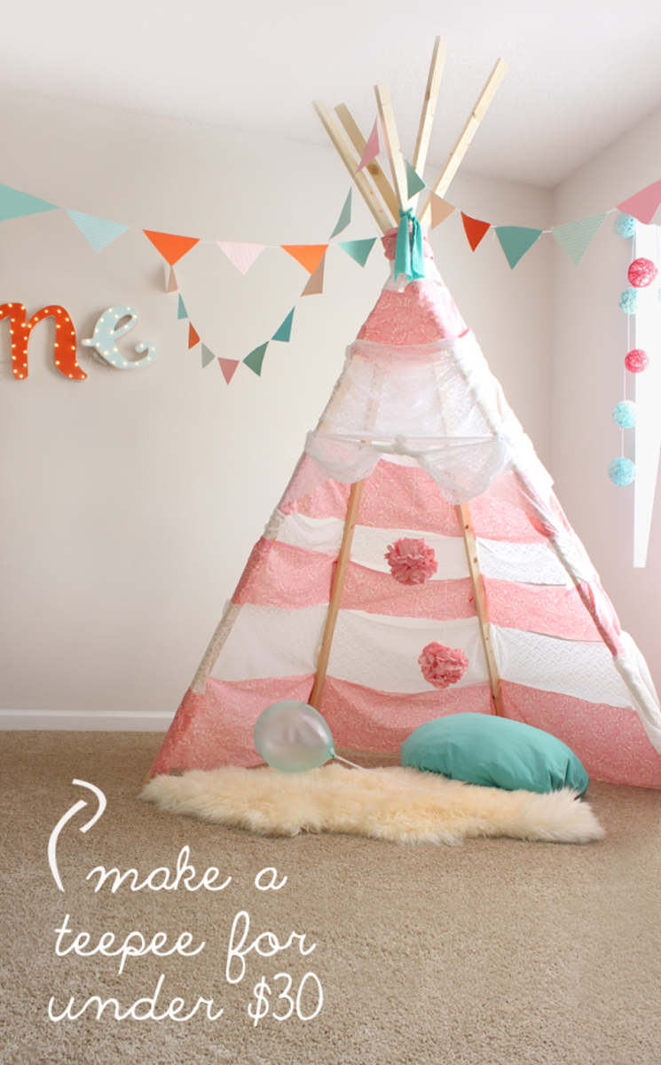 how to make a table play tent