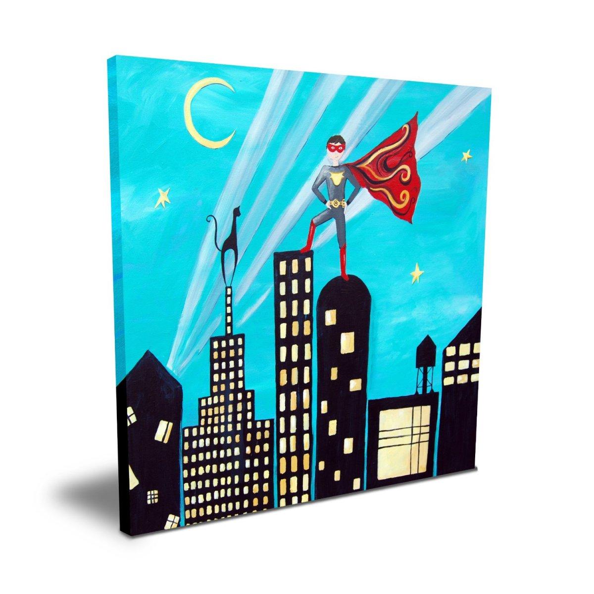"Cici Art Factory 16"" x 16"" Superhero"