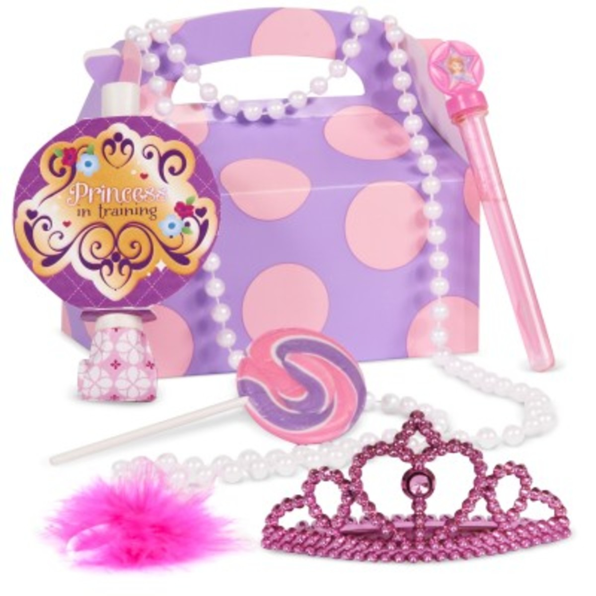 Prefilled sofia the First Party Favor Boxes