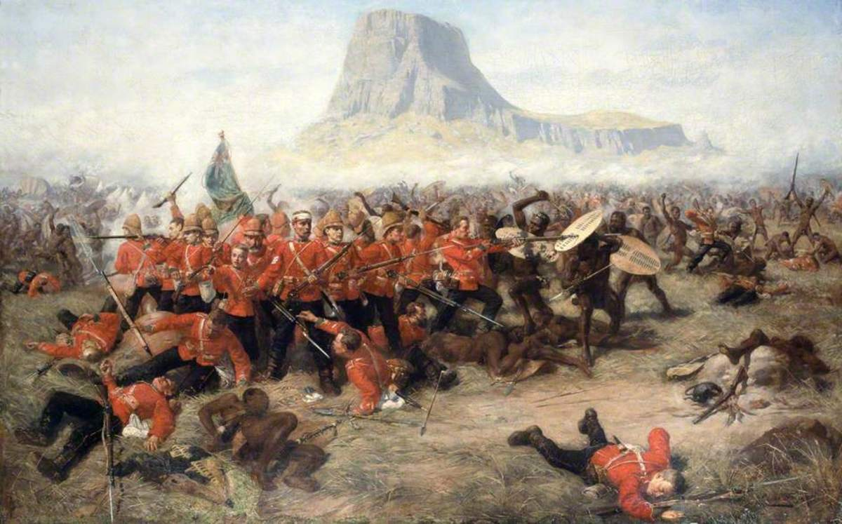 Battle of Isandhlwana (1879) - Charles Edwin Fripp