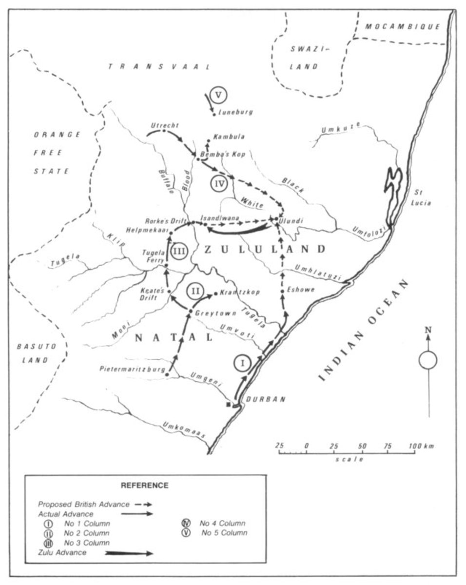 British Plan for the Invasion of Zululand