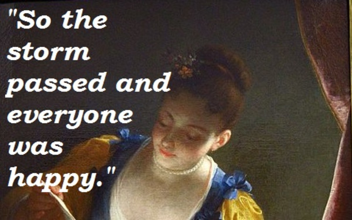 "Quote from Kate Chopin's ""The Storm."""