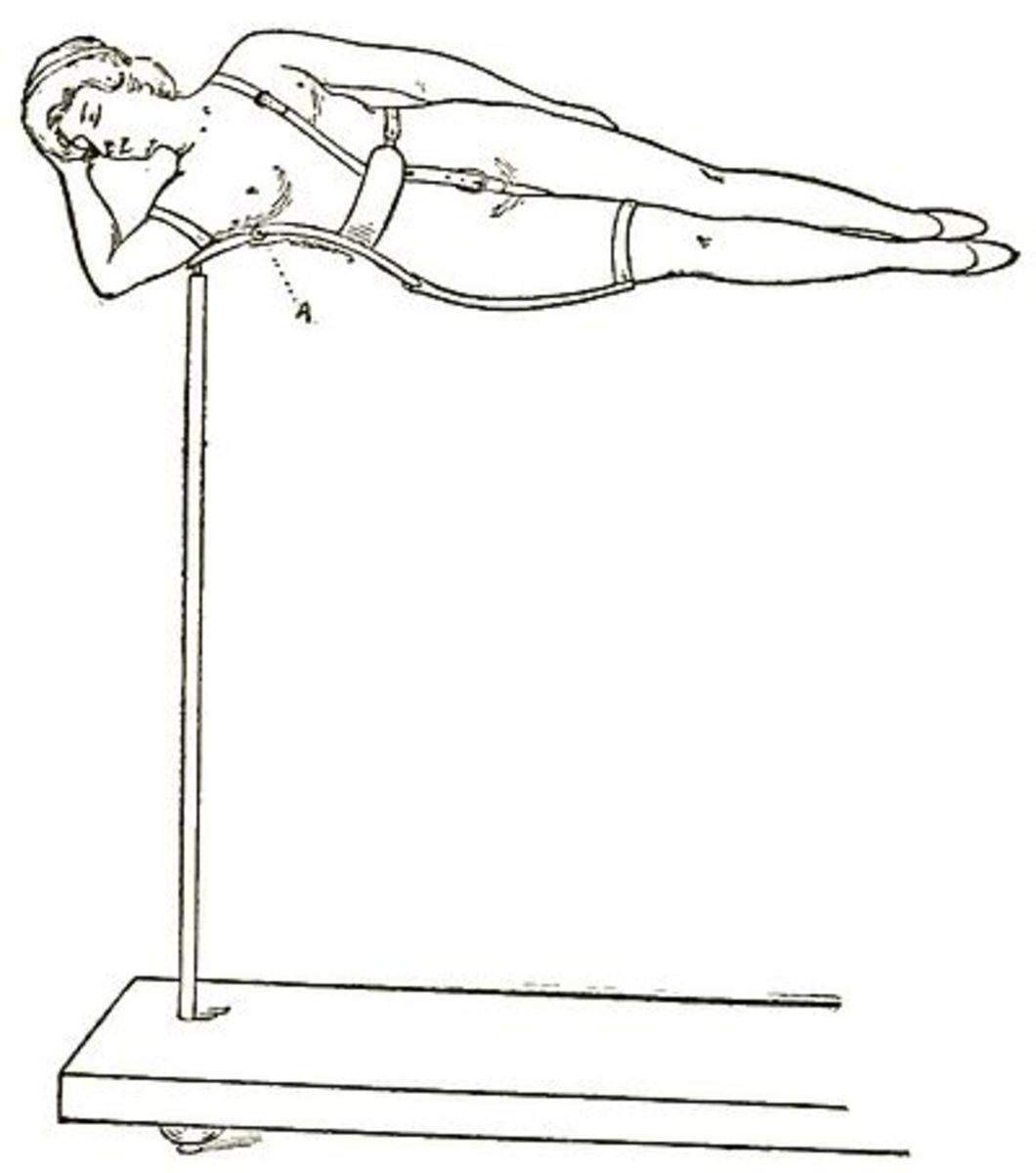 The Levitating Lady