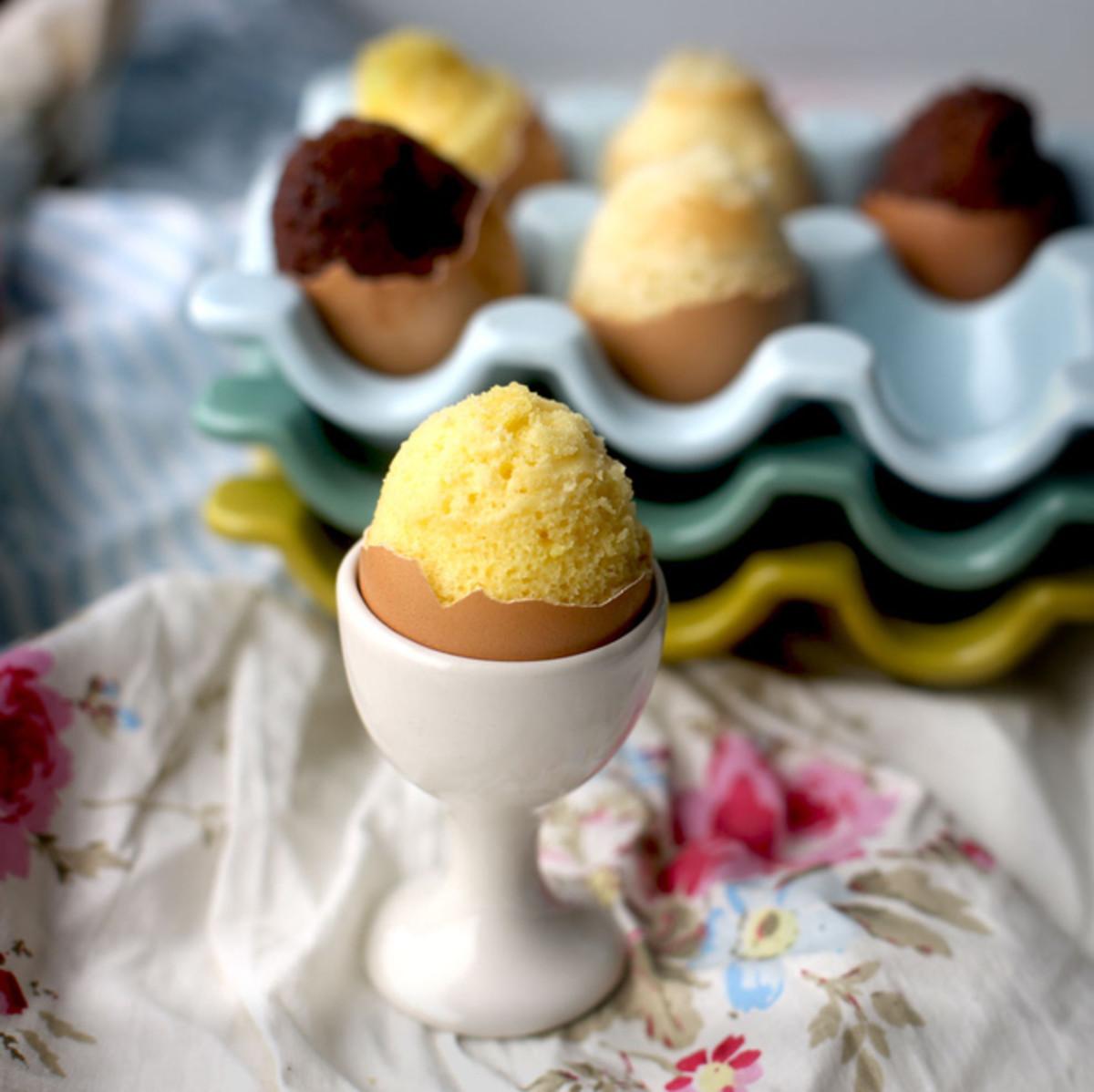 Mini Egg Cakes