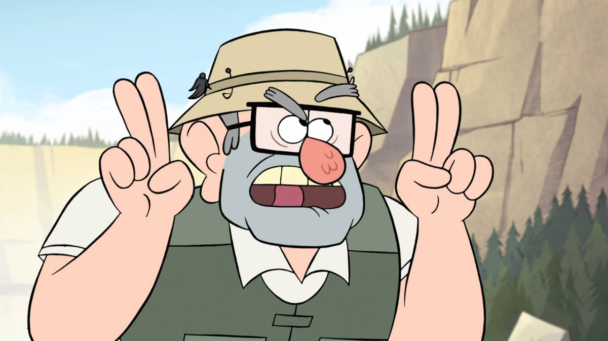 Disney's character: Grunkle Stan