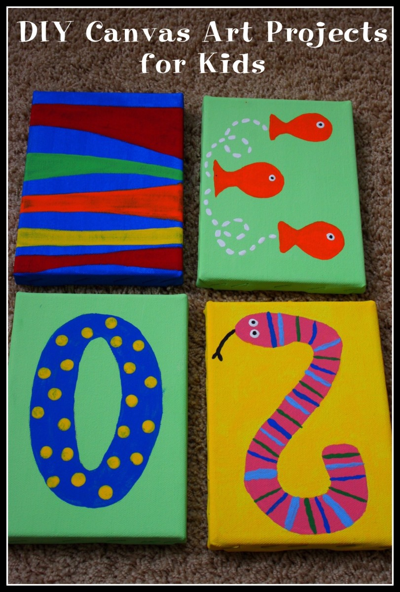 canvas craft ideas for kids diy canvas projects for hubpages 5984
