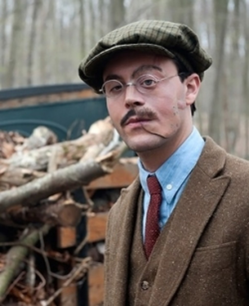 Dress Like Richard Harrow of Boardwalk Empire