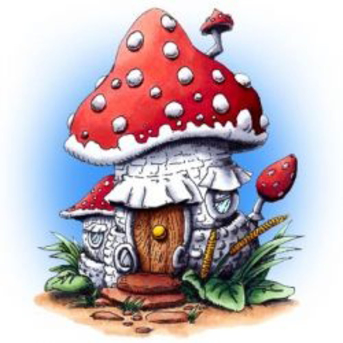 And some fairies and other little folk even make the toadstool their home