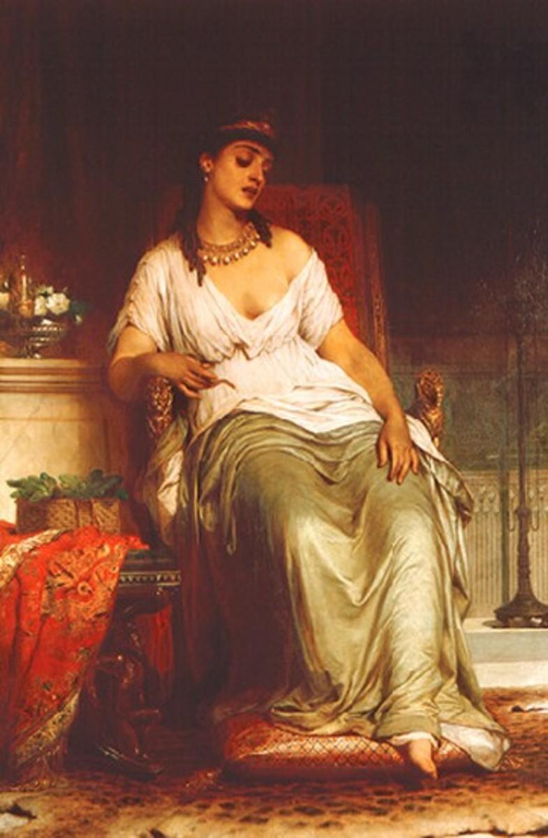 Cleopatra by Frank Bernard Dicksee