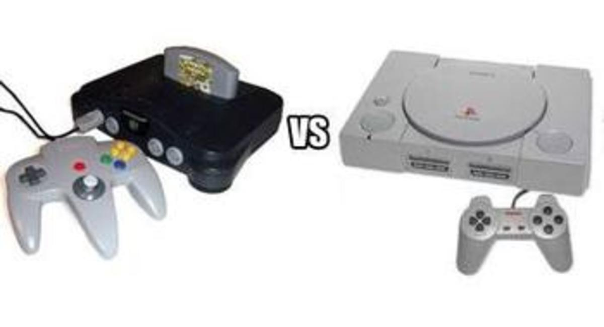 Nintendo 64 v.s. Sony Playstation