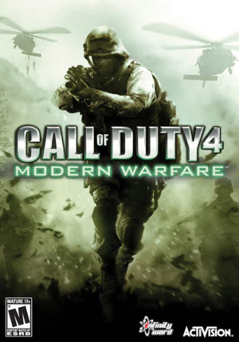 Call of Duty 4, the Seventh Generation defining game.