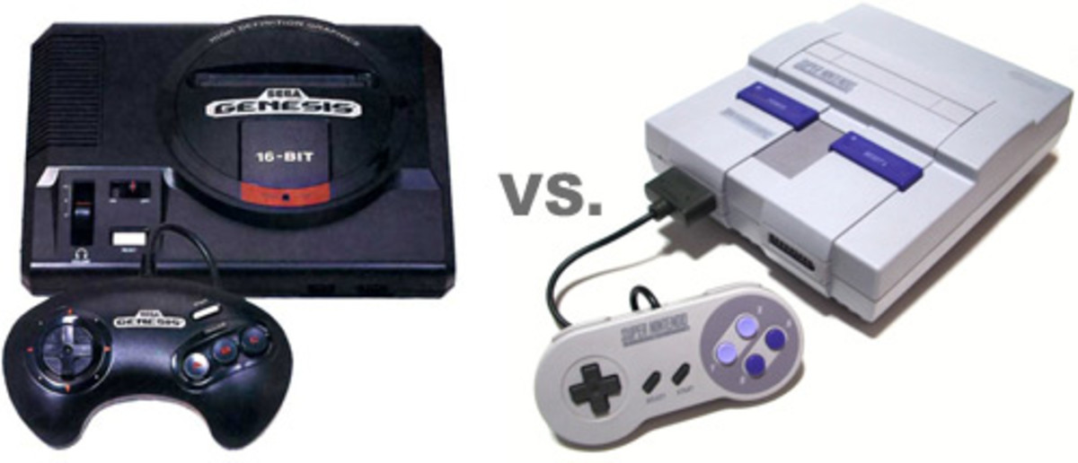 Sega Genesis and Super Nintendo
