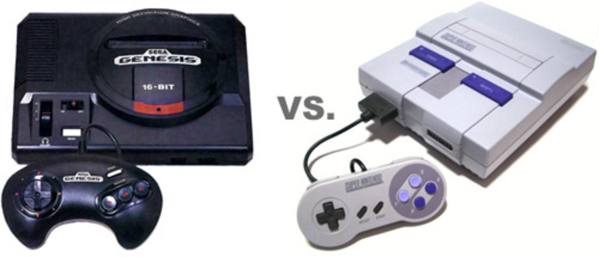 Sega Genesis and Super Nintendo