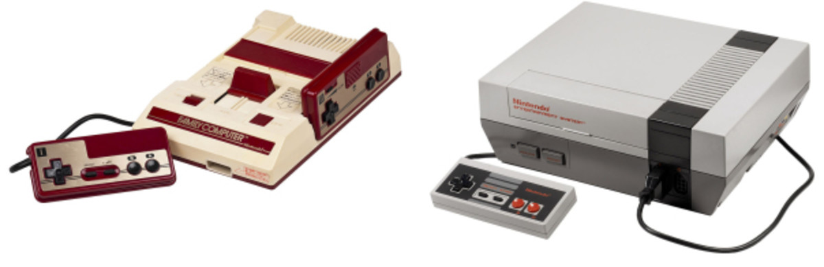 The Famicom and the NES