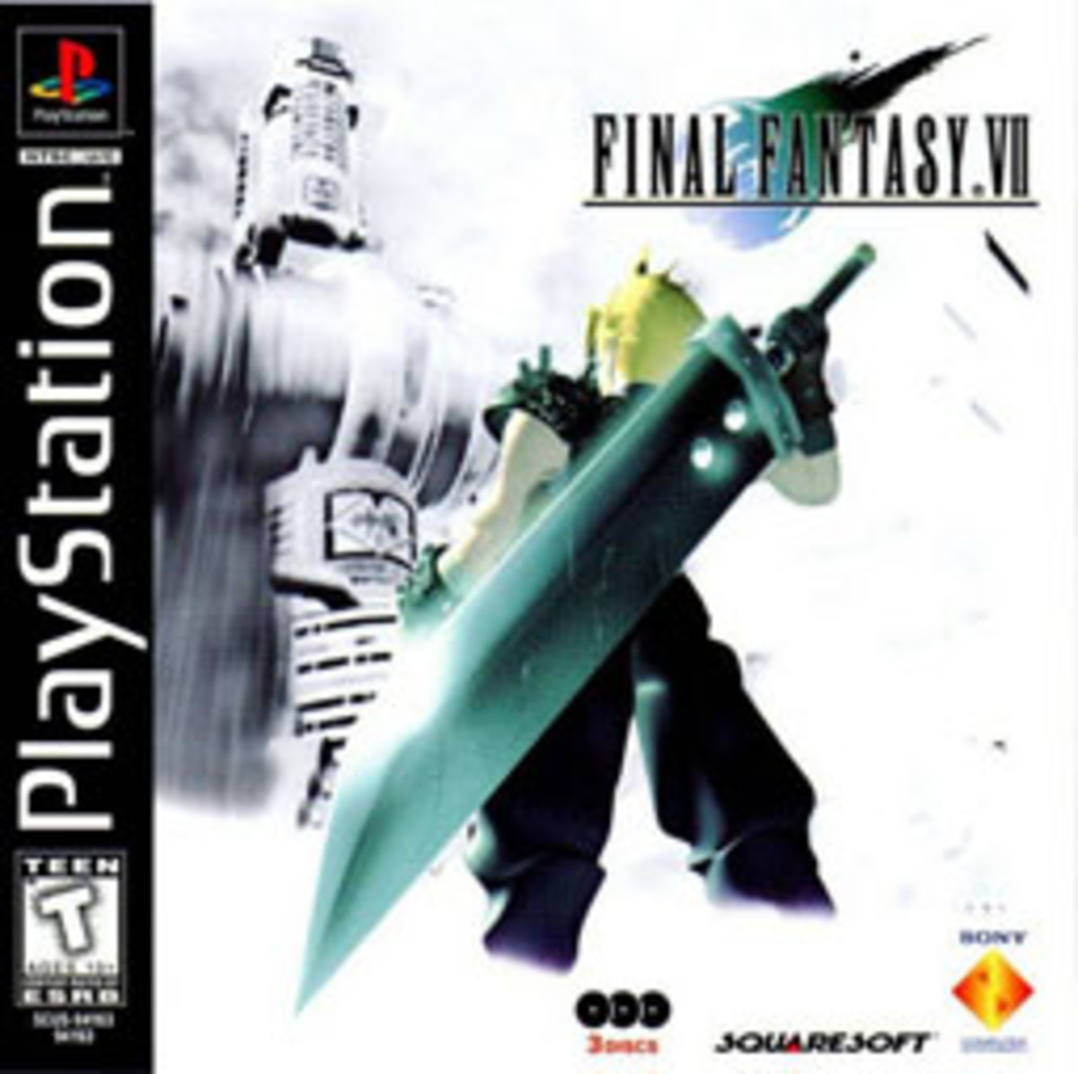 Final Fantasy VII box art.
