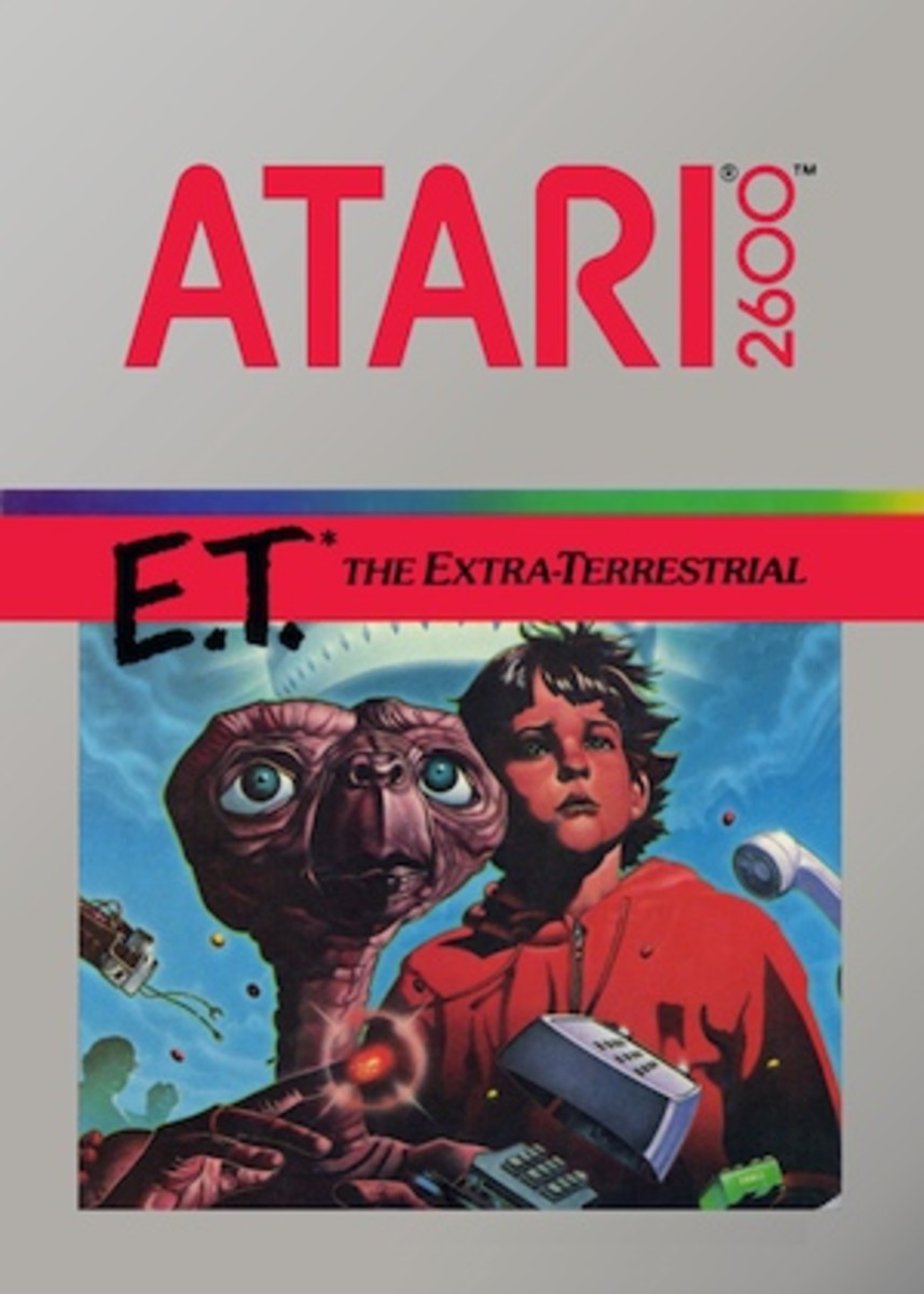 The cover art for E.T. the Extra-Terrestrial.