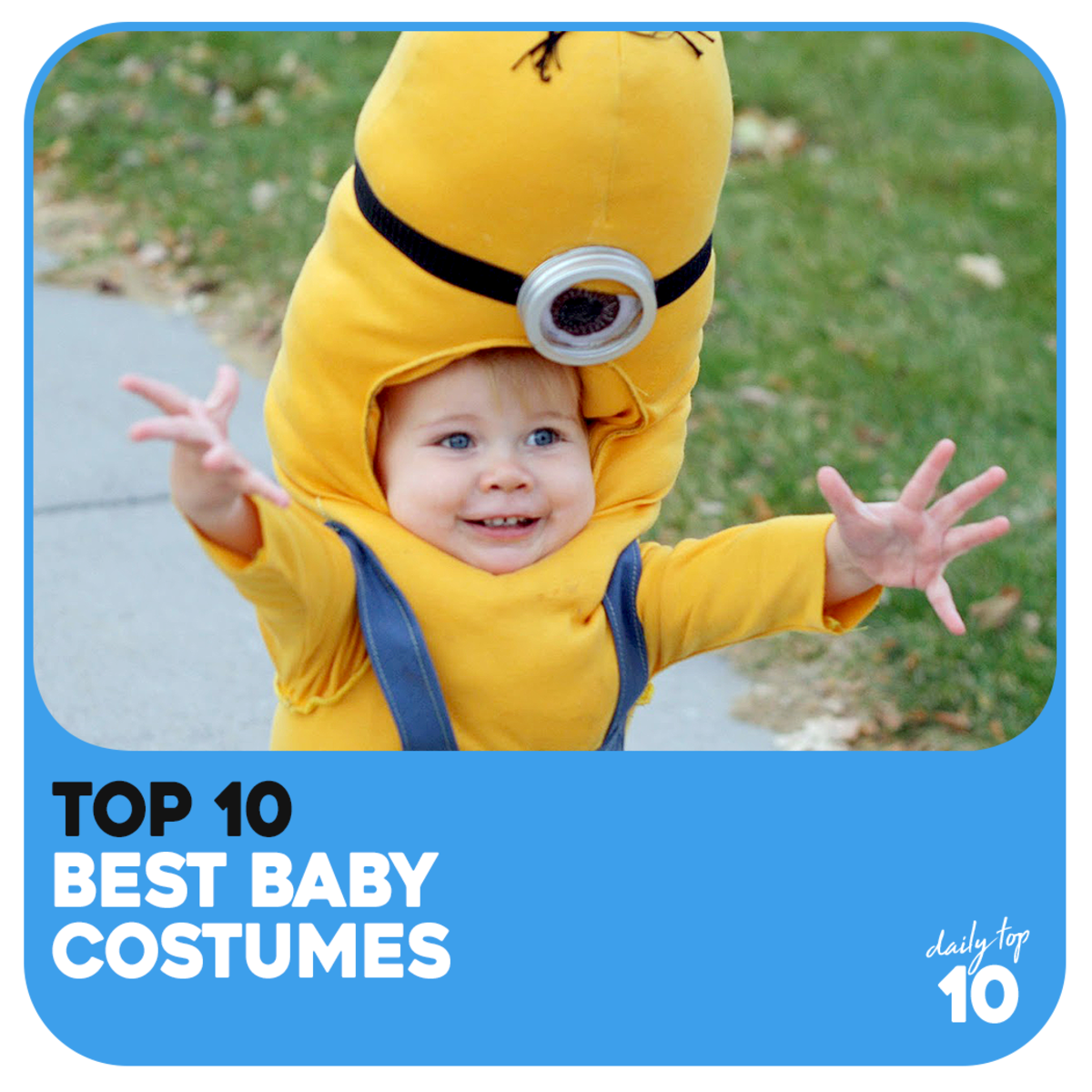 Top 10 Most Creative Baby Costumes for Halloween, Christmas, Birthdays, and Other Special Occasions!