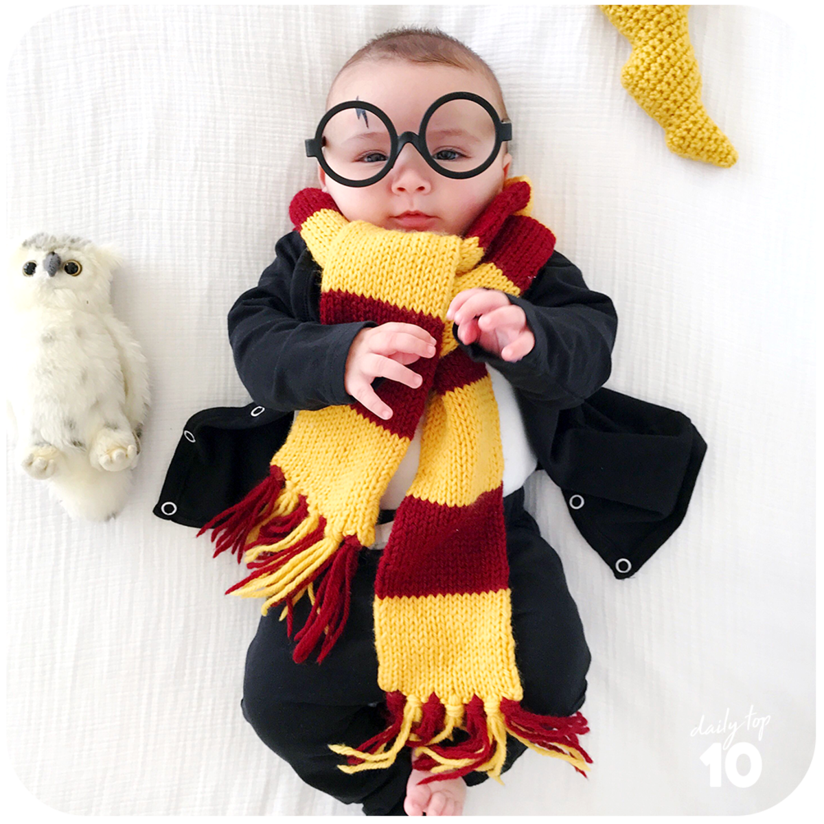 Geeky Baby Costume