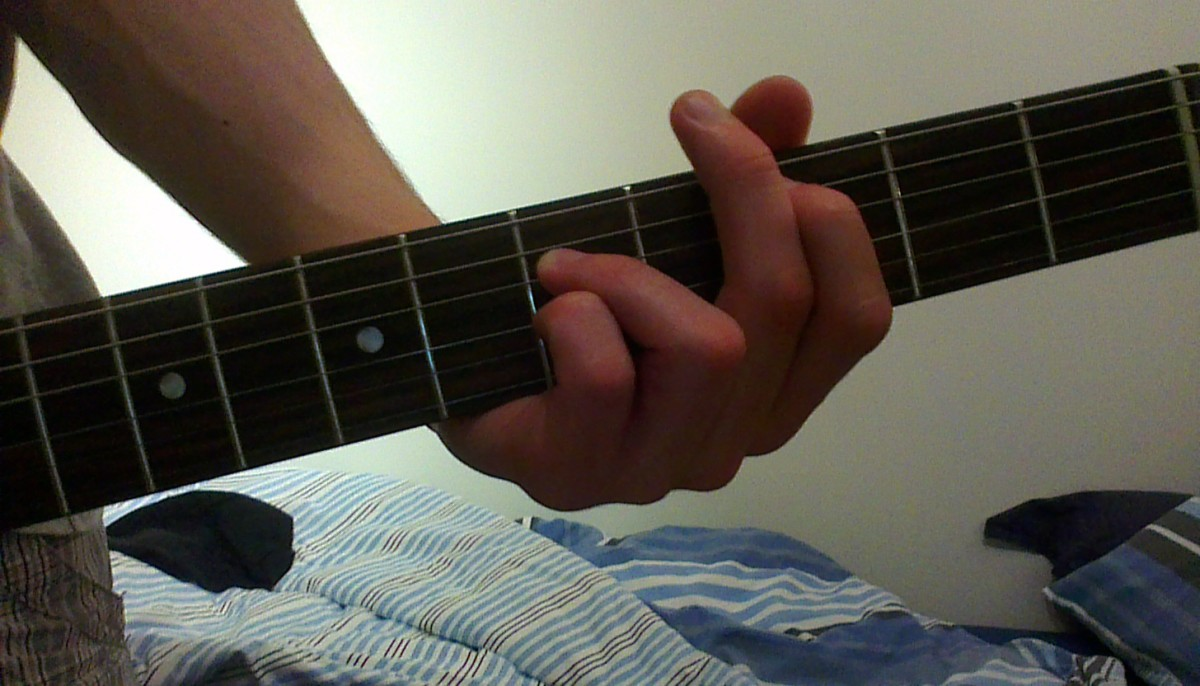 Power Chord Hand Position