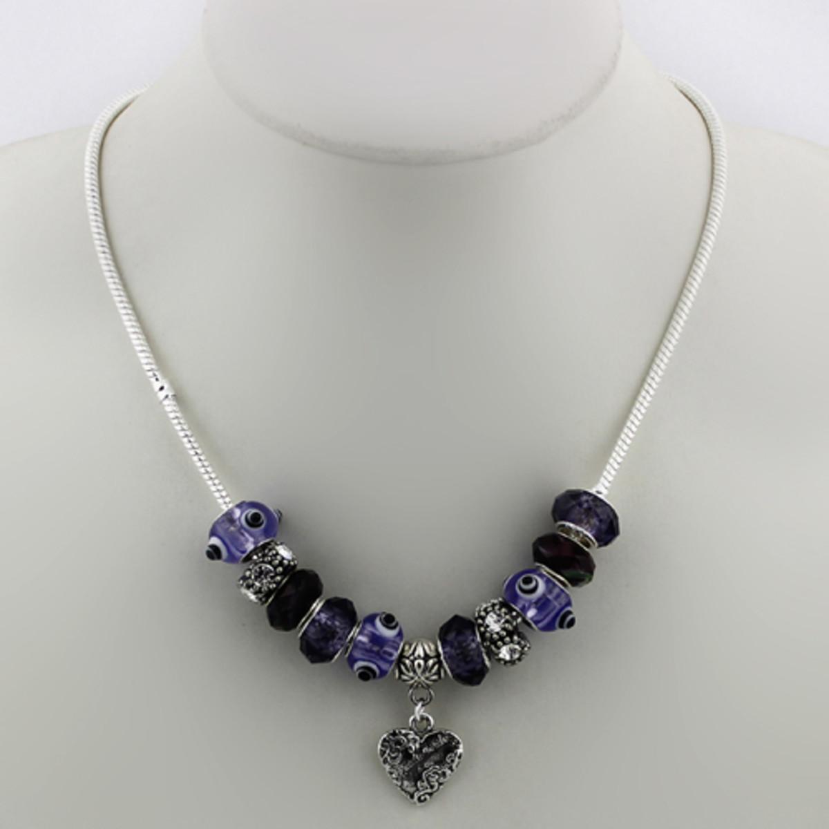 Pandora Necklace Design Ideas