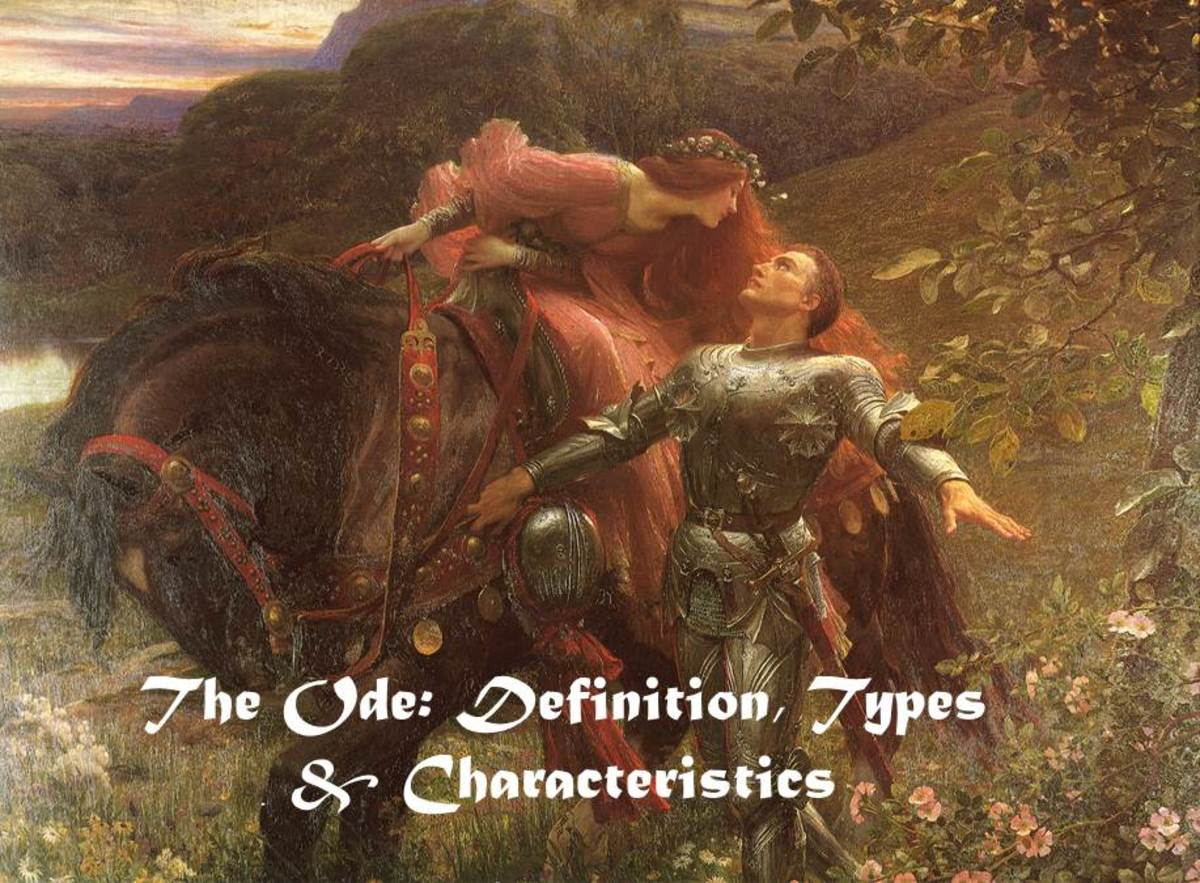 The Ode: Definition, Types & Characterisitics