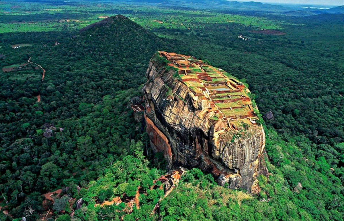 Physical Features of Sri Lanka