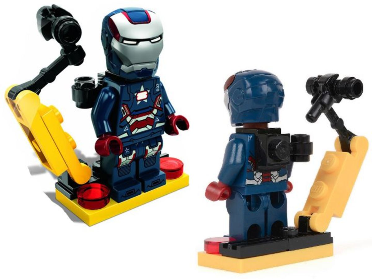 LEGO Super Heroes Gun Mounting System 30168 Assembled