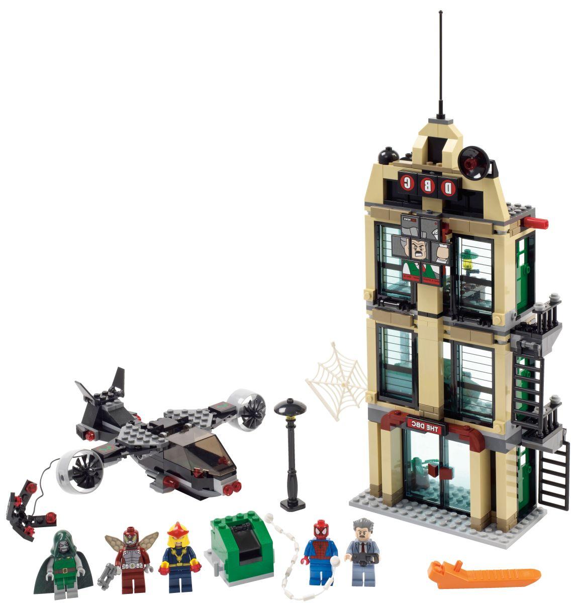 LEGO Super Heroes Spider-Man: Daily Bugle Showdown 76005 Assembled