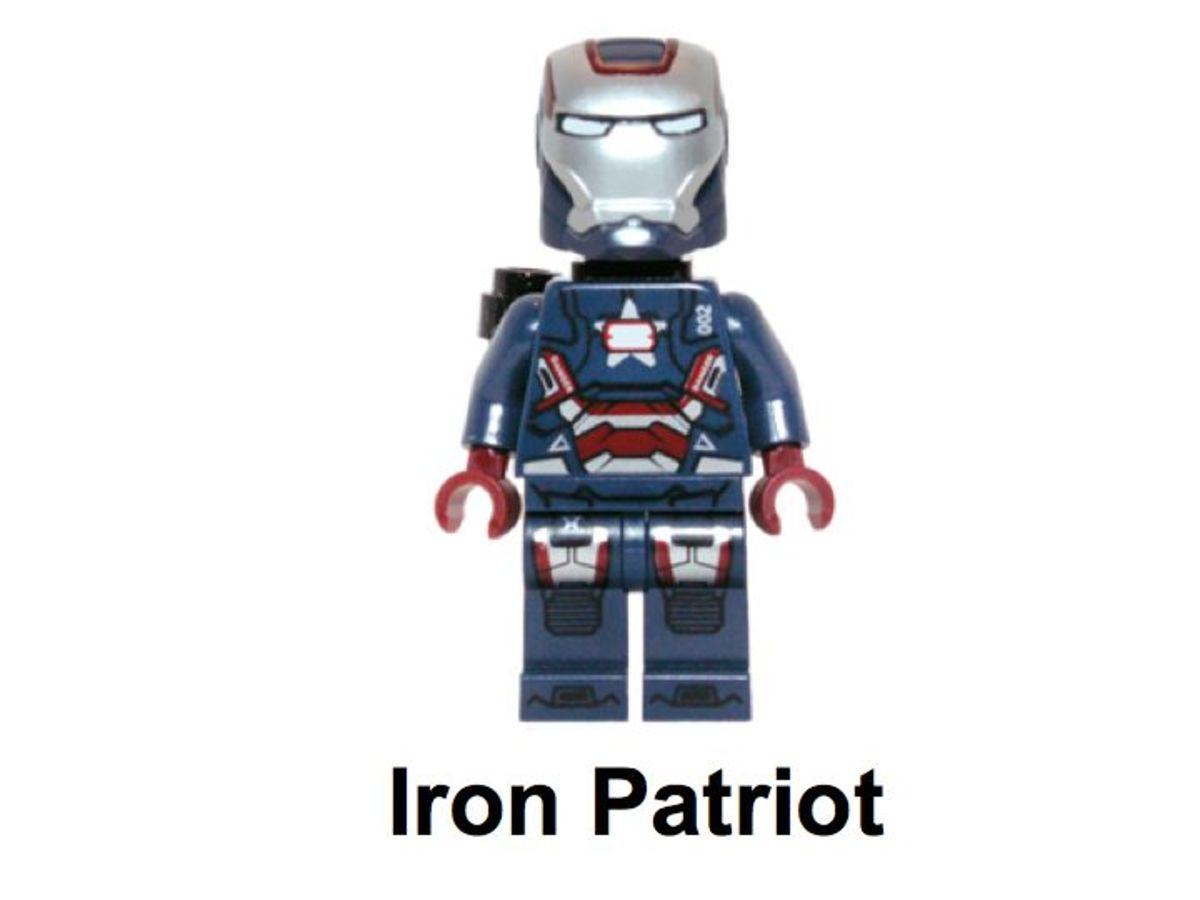 LEGO Super Heroes Gun Mounting System 30168 Iron Patriot Minifigure