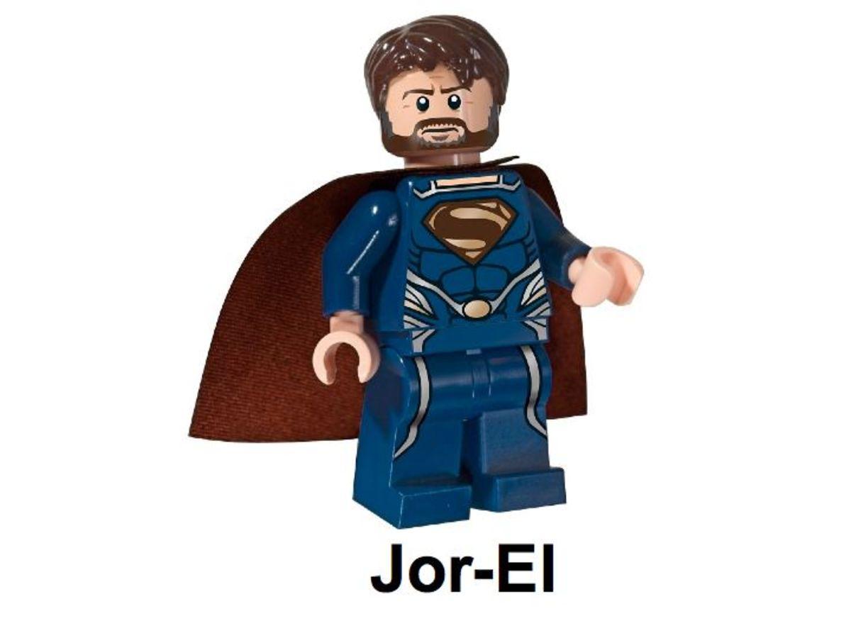LEGO Super Heroes Jor-El 5001623 Minifigure