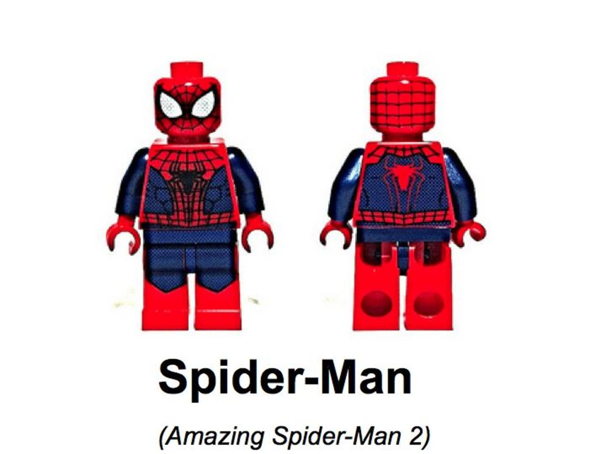 LEGO Super Heroes Spider-Man Minifigure SDCC 2013