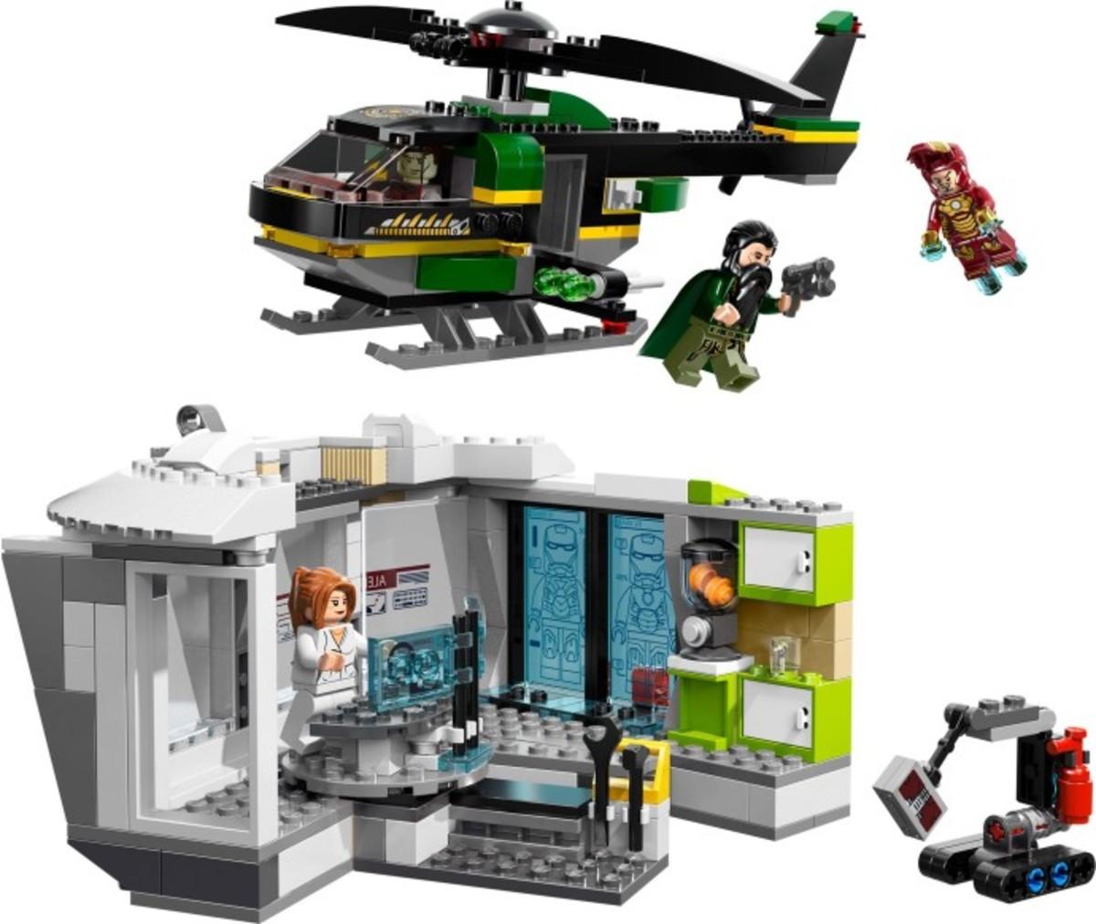 LEGO Super Heroes Iron Man: Malibu Mansion Attack 76007 Assembled