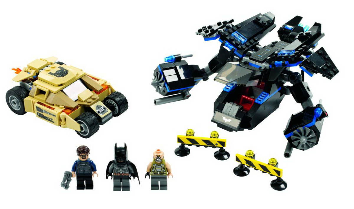 LEGO Super Heroes The Bat vs Bane: Tumbler Chase 76001 Assembled