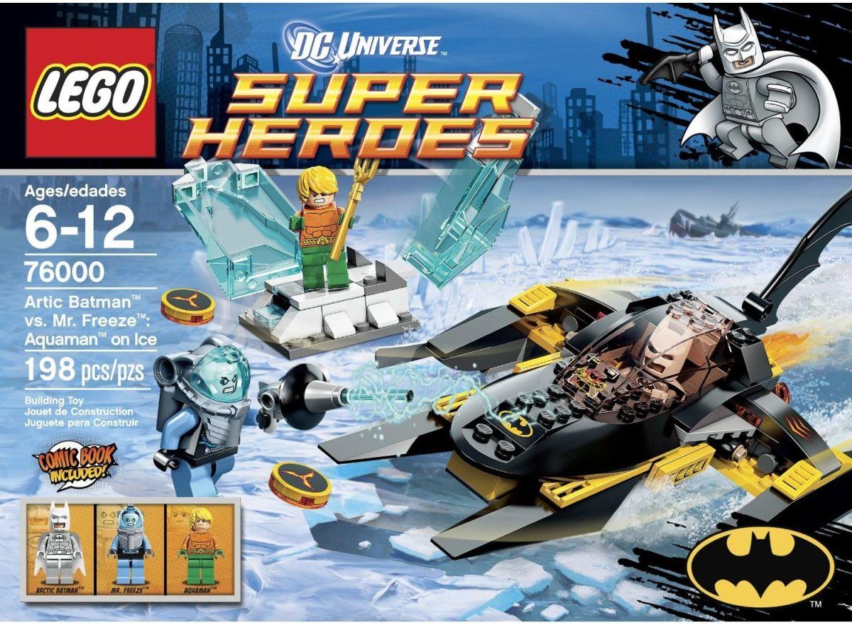 LEGO Super Heroes Arctic Batman vs Mr. Freeze: Aquaman on Ice 76000 Box