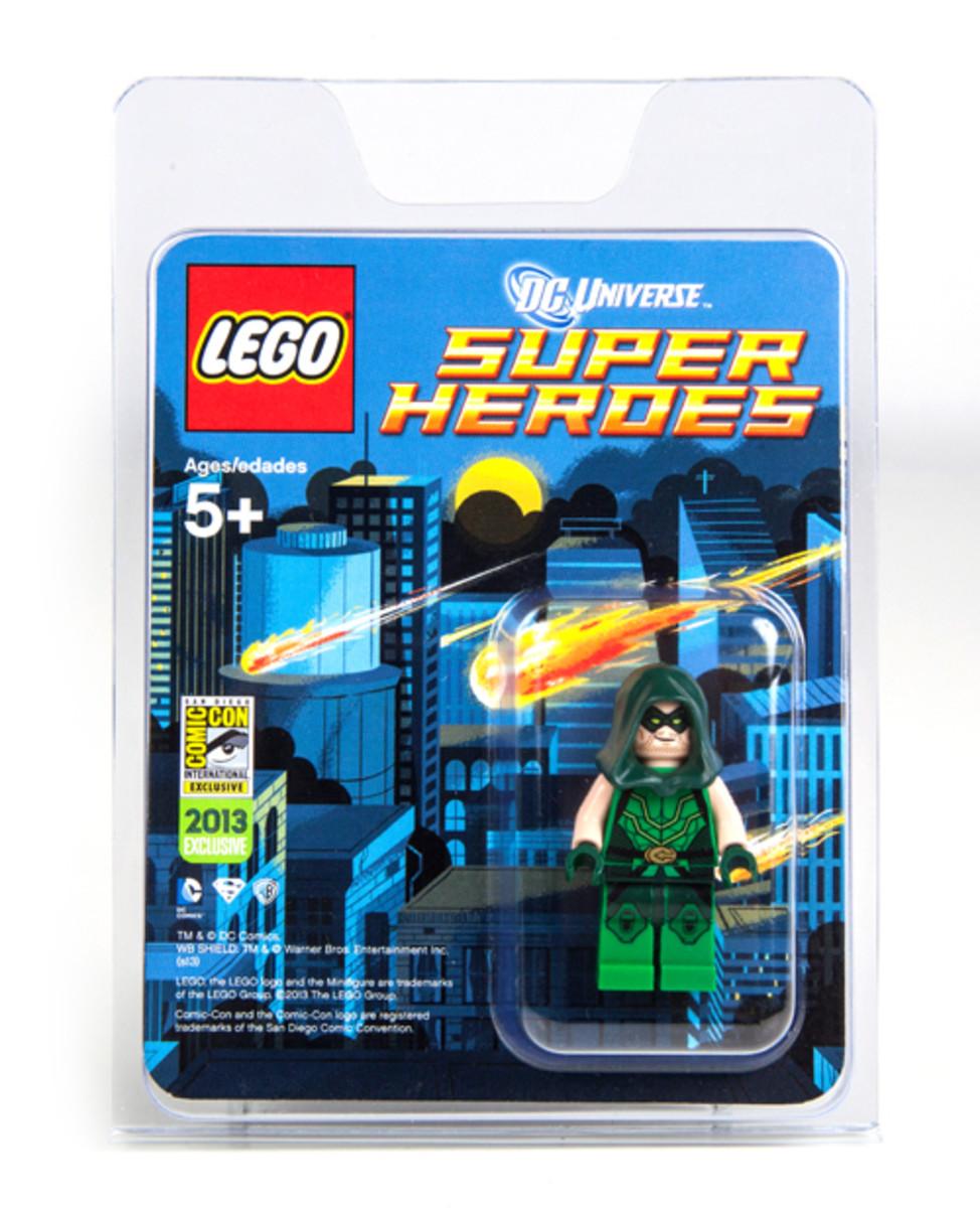LEGO Super Heroes Green Arrow Minifigure SDCC 2013 Box