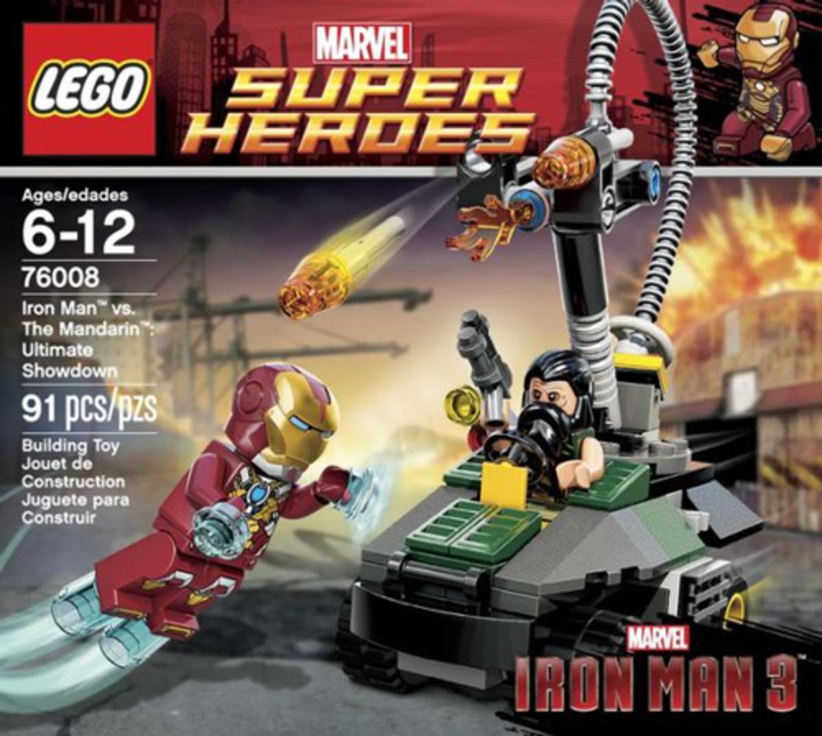 LEGO Super Heroes Iron Man vs The Mandarin: Ultimate Showdown 76008 Box