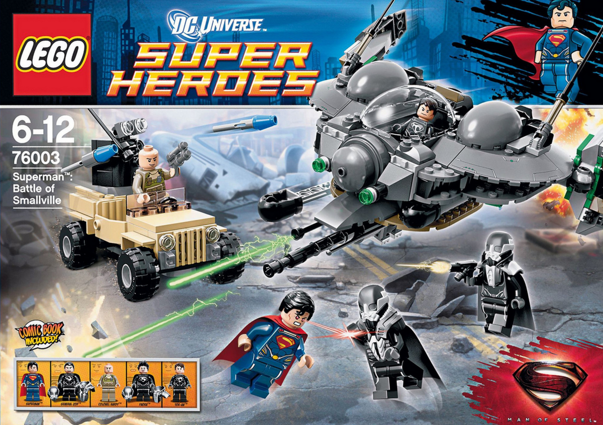 LEGO Super Heroes Superman Battle of Smallville 76003 Box