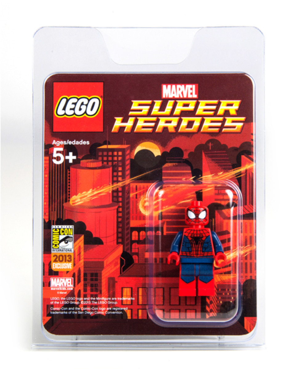 LEGO Super Heroes Spider-Man Minifigure SDCC 2013 Box