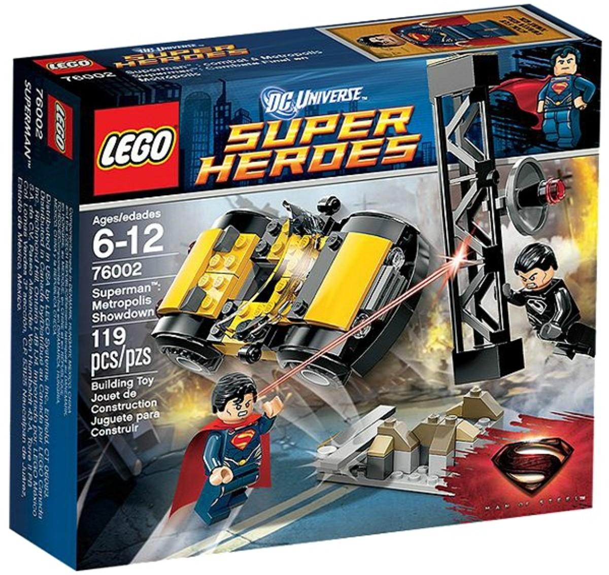 LEGO Super Heroes Superman Metropolis Showdown 76002 Box