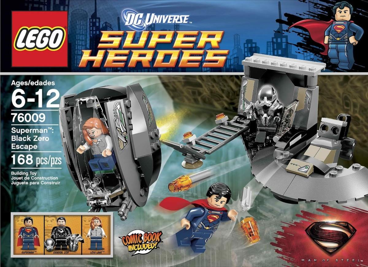 LEGO Super Heroes Superman Black Zero Escape 76009 Box